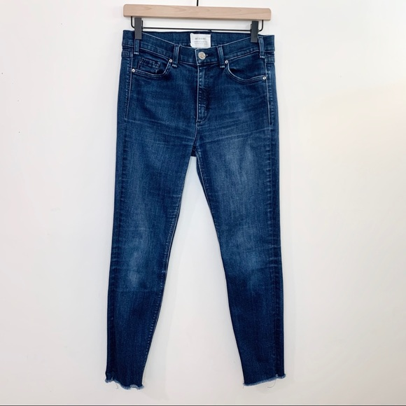 McGuire Denim Denim - McGUIRE Newton High Rise Cropped Skinny Jeans